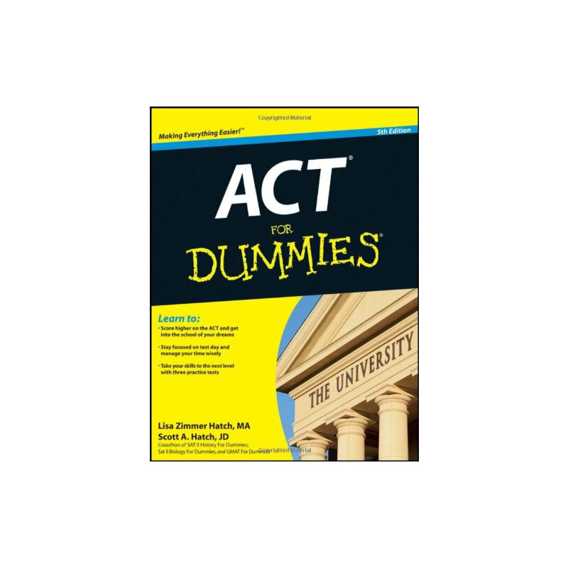 act for dummies [isbn: 978-1118012598]