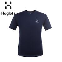 Haglofs火柴棍男款简洁速干T恤603352(亚洲新版)