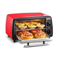 SKG 1711小烤箱家用迷你电脑式多功能电烤箱烘焙工具小烤箱控温迷你蛋糕饼干12L特价