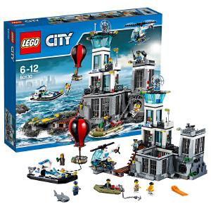 [当当自营]LEGO 乐高 城市系列 监狱岛 积木拼插儿童益智玩具 60130
