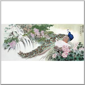 荣宝斋画院 霜豪《富贵花开》