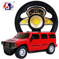 方向盘电动遥控车赛车充电漂移遥控汽车 方向盘重力感应男孩玩具