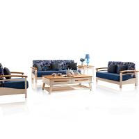 御品工匠 北欧全实木布艺沙发 现代客厅可拆洗 简约布沙发组合 B05沙发