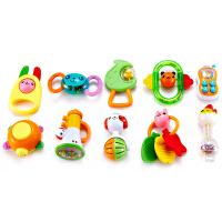 [当当自营]Auby 澳贝 摇铃系列 10只盒装摇铃 婴儿玩具 463129