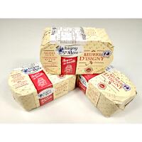 法国进口 伊斯尼AOP传统搅拌无盐黄油块 伊斯尼黄油块 发酵黄油 250g 5件 包邮