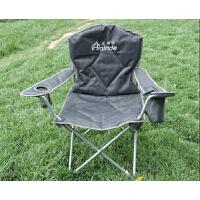 伊贝尔 户外沙滩钓鱼休闲舒适带扶手折叠椅子成人便携椅子 R-003