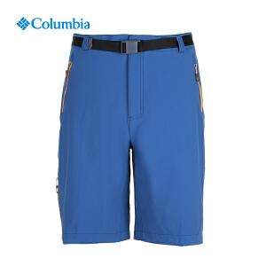 【领卷满400减100】Columbia哥伦比亚户外17春夏新男款钛金系列抗污防晒五分裤AE1580
