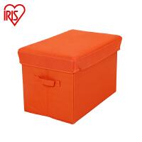 新品-爱丽思IRIS 折叠收纳凳 SBS320 提拉米苏色