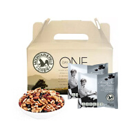 韩国进口山野 M&F 每日混合搭配坚果 黑豆版 礼盒装 20克*15袋 300克