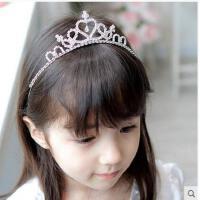 时尚精美皇冠发箍头饰发饰儿童女童皇冠儿童发箍