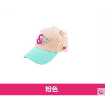 绣女童帽子鸭舌帽