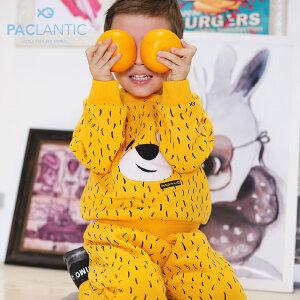 派克兰帝2017秋装小童男童女童针织卫衣套装