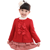 绿盒子童装 珍妮贝尔 大衣 JW11010213