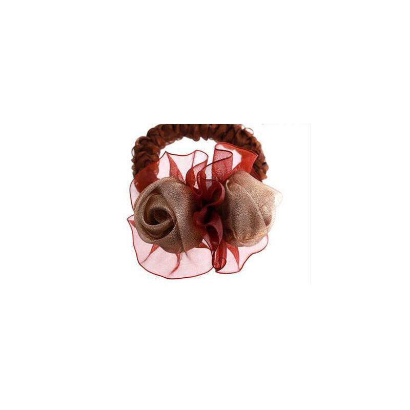 转运珠戒指带红珠编发