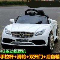 儿童电动车四轮奔驰童车男女可坐人宝宝玩具车双驱带遥控小孩汽车