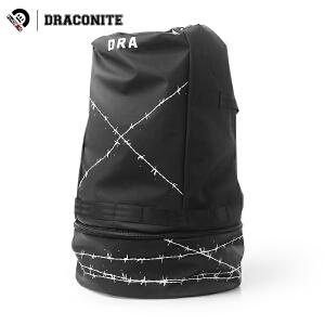 【支持礼品卡支付】DRACONITE潮牌链条反光水桶包男女街头手提旅行休闲双肩背包11707