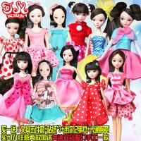 可儿娃娃 女孩玩具 套装现代风格关节体可动礼物时尚生活衣服换装过家家组合