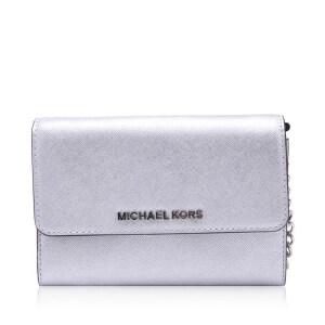 MK MICHAEL KORS迈克・科尔斯牛皮材质女士单肩斜挎包 银泰 支持礼品卡支付