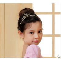 高弹性精致耐用闪亮发饰儿童表演出头饰韩版百搭气质公主皇冠发箍