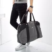 吉野帆布包包新款韩版男包包手提单肩包斜挎包百搭商务旅行包休闲男士大包包运动包712A2