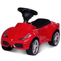 【当当自营】星辉raster 儿童扭扭车 宝宝玩具安全溜溜车四轮滑行车法拉利新款83500红色