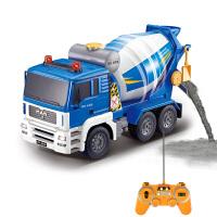 【当当自营】双鹰工程车1:20混凝土搅拌车仿真模型男孩电动遥控玩具车E518-001