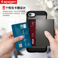 spigen韩国iPhone7 plus手机壳防摔苹果4.7保护套全包插卡多功能