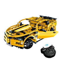 【当当自营】双鹰积木遥控汽车黄蜂跑车F1赛车C51008