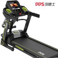 多德士(DDS)智能跑步机 7寸彩屏WIFI家用多功能静音可折叠自助加油(含跑步机垫 防尘罩)