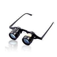 必嘉10倍眼镜式望远镜钓鱼望远镜66克超轻微光夜视看漂拉近钓鱼眼镜垂钓渔具观看演出比赛