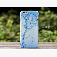 iphone6 plus/6splus【5.5寸】手机壳 iphone6/6s 【4.7】3D立体彩绘浮雕 苹果5.5寸超薄硬壳保护套潮