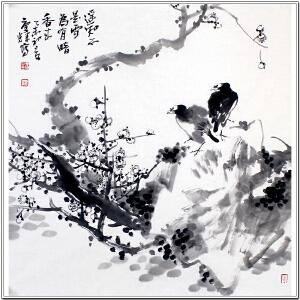 中国传媒大学美术传播研究所研究院员 王庆辉《遥知不是雪》