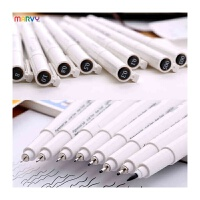 日本美辉4600针管笔 草图笔绘图勾线笔手绘动漫高达模型笔有BRUSH, 手绘漫画须备 好用不贵