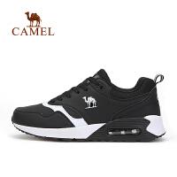 camel骆驼户外男款越野跑鞋 男士透气减震低帮运动鞋