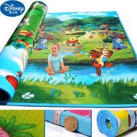 Disney迪士尼宝宝双面婴儿爬行垫 爬爬垫爬行毯加厚2CM 200*180*2cm