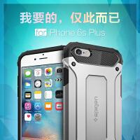SPIGEN韩国SGP新款 苹果iPhone 6/6s plus 5.5寸碳纤维铠甲保护套 苹果iPhone 6/6S 4.7寸 硅胶套防摔外壳 潮男新品