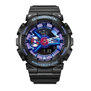 卡西欧(CASIO)男表 防水防磁运动男士手表GMA-S110HC-1A/GMA-S110HC-2A/GMA-S110HC-6A