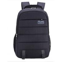 商务休闲时尚旅行双肩背包 多功能防水防盗笔记本电脑包