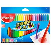 当当自营Maped 马培德 24色塑料蜡笔 CH862003
