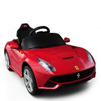 【当当自营】星辉rastar 1:4儿童电动车法拉利F12遥控带刹车四轮电动汽车童车宝宝小孩可坐车模玩具81900红色