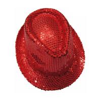 圣诞节派对演出狂欢爵士帽子亮片礼帽化妆舞会活动拐棍舞表演帽子