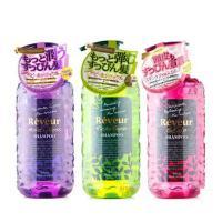 无硅洗发水 日本COSME大赏 Reveur无硅滋养洗发水500ml*3 护发素 500ml*3