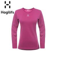 Haglofs火柴棍女款户外吸汗快干长袖T恤825320