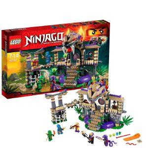 [当当自营]LEGO 乐高 NINJAGO幻影忍者系列 勇闯狂蟒碉堡 积木拼插儿童益智玩具 70749