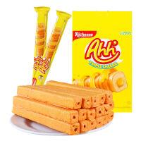 丽芝士Richeese奶酪芝士玉米棒 哈哈卷160g 印尼进口零食品 纳宝帝威化饼干休闲