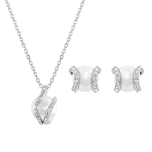 SWAROVSKI/施华洛世奇水晶珍珠项链耳钉套组1081922