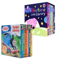 粉红猪小妹Peppa Pig:Little Library小图书馆英文原版童书纸板书女孩启蒙认知亲子读物  Peppa's PigFavourite Things Peppa at Playgroup