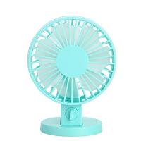 小型电风扇迷你可充电usb学生宿舍床上办公室桌面随身静音便携式
