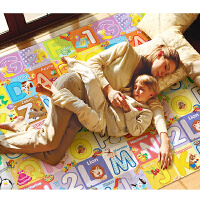 华婴婴儿童宝宝爬行垫 双面加厚 爬爬垫 泡沫地垫 环保游戏玩具毯