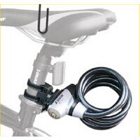 反光条锁电瓶车抗锯钢丝锁 自行车钢丝锁山地车锁公路车